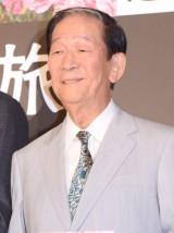 映画『岸辺の旅』の初日舞台あいさつに出席した小松政夫 (C)ORICON NewS inc.
