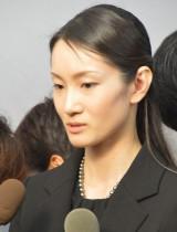 川島なお美さんの通夜に参列した荒川静香 (C)ORICON NewS inc.