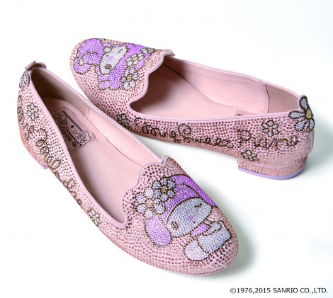 『We are best friends loafers(AS4688)』(税抜価格:16900円) (c)1976,2015 SANRIO CO.,LTD.