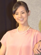 NHK木曜時代劇『ぼんくら2』の取材会に出席した小西真奈美 (C)ORICON NewS inc.