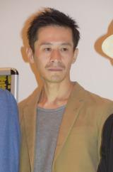 映画『木屋町DARUMA』の初日舞台あいさつに出席した三浦誠己 (C)ORICON NewS inc.
