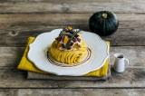 『かぼちゃとクリームチーズのモンブランパンケーキ』(税込価格:1100円)