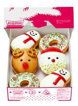 クリスマスの主役たちがキュートなドーナツに