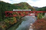 秋田名物の秋田内陸縦貫鉄道