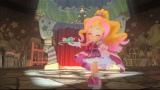 『映画Go!プリンセスプリキュア Go!Go!!豪華3本立て!!!』(10月31日公開)ショートストーリーの『キュアフローラといたずらかがみ』(C)2015 映画Go!プリンセスプリキュア製作委員会