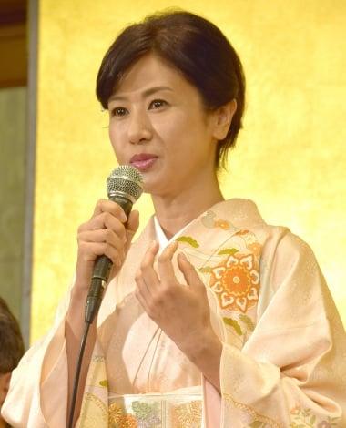 明治座11月公演『かたき同志』制作発表会に出席した小林綾子 (C)ORICON NewS inc.
