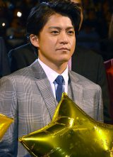 映画『ギャラクシー街道』完成披露試写会に出席した小栗旬 (C)ORICON NewS inc.