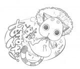 キャラクターデザインを担当する伊東葉子氏のイラスト(C)2016 天野こずえ/マッグガーデン・夢ヶ丘高校ダイビング部
