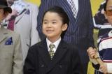 寺田心=映画『龍三と七人の子分たち』DVD&Blu-rayの発売記念イベントの模様 (C)2015 『龍三と七人の子分たち』 製作委員会