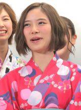 ラストライブ前の囲み取材に応じたアイドリング!!!の朝日奈央 (C)ORICON NewS inc.