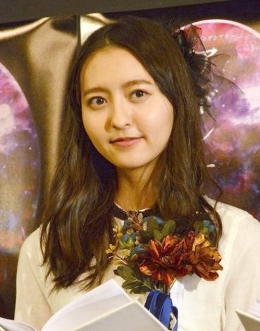 リーディングシアター『アドレナリンの夜』ゲネプロ前囲み取材に応じたHKT48の森保まどか (C)ORICON NewS inc.