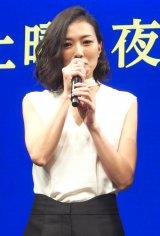 WOWOWの『連続ドラマW 海に降る』完成披露4K試写会に出席した板谷由夏 (C)ORICON NewS inc.
