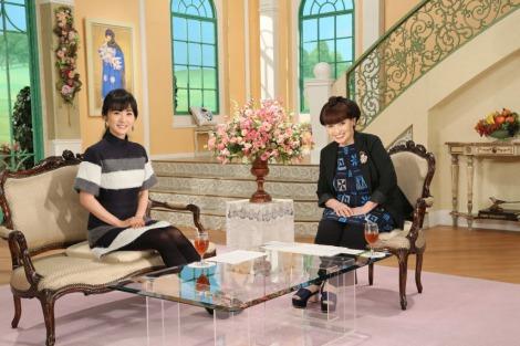 高島彩が7日放送のテレビ朝日系『徹子の部屋』でフジ以外の民放地上波に初出演