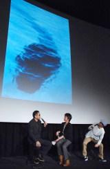 三上編集長による最新UMA情報=映画『探検隊の栄光』スピンオフドラマのトークイベント (C)ORICON NewS inc.