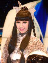 2013年の舞台でMr.オクレを見て笑いが止まらなかったことを明かしたプリンセス天功=大阪・なんばグランド花月で特別公演の開催会見 (C)ORICON NewS inc.