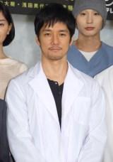 フジテレビ系ドラマ『無痛〜診える眼〜』に主演する西島秀俊 (C)ORICON NewS inc.