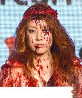 メルカリ『mercari Halloween Night』PR発表会に出席したPUFFYの大貫亜美 (C)ORICON NewS inc.