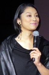 年末の格闘技イベントの復活会見に出席した小池栄子 (C)ORICON NewS inc.