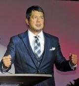 年末の格闘技イベントの復活会見に出席した高田延彦 (C)ORICON NewS inc.
