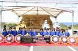 鳥取砂丘に『砂のスター・ウォーズ』砂像が完成、鳥取砂丘市営駐車場に12月末まで展示予定(C) 2015 Lucasfilm Ltd. & TM. All Rights Reserved