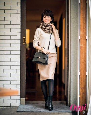 サムネイル 女性誌『Oggi』で大人の表情をみせる光宗薫