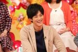 10月13日放送、関西テレビ・フジテレビ系『発見!ウワサの食卓』にゲスト出演する松坂桃李(C)関西テレビ