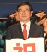 映画『図書館戦争 THE LAST MISSION』初日舞台あいさつに出席した石坂浩二 (C)ORICON NewS inc.