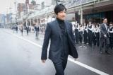 群馬県前橋市で開催された前橋まつりの会場に現れた大沢たかお(C)NHK