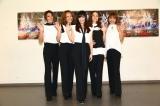 """結成以来初の""""5人組""""でライブを行ったMAXの(左から)AKI、LINA、MINA、NANA、REINA"""