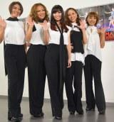 """結成以来初の""""5人組""""でライブを行ったMAXの(左から)AKI、LINA、MINA、NANA、REINA (C)ORICON NewS inc."""