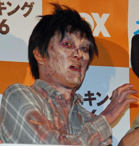 FOXチャンネル『ウォーキング・デッド シーズン6』放送開始記念試写会に登場した平成ノブシコブシ徳井健太 (C)ORICON NewS inc.