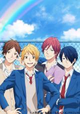 新たなに公開されたアニメ『虹色デイズ』ビジュアル (C)水野美波/集英社・「虹色デイズ」プロジェクト
