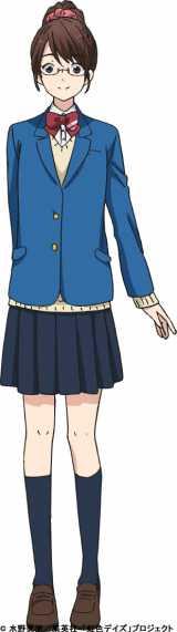 公募で決定する6話登場キャラクター「石田さん」(C)水野美波/集英社・「虹色デイズ」プロジェクト