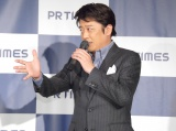『PR TIMES』新CM発表会に出席した坂上忍 (C)ORICON NewS inc.