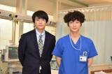 綾野剛が連続ドラマ単独初主演する『コウノドリ』に小栗旬が出演(C)TBS