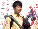 『SHIBUYA Halloween ゴーストバスターズ&TRASH ART』記者発表会に出席したキングコングの西野亮廣 (C)ORICON NewS inc.