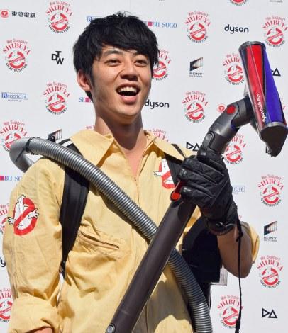 """渋谷の""""ごみ問題""""をエンターテインメント化すると公約したキングコングの西野亮廣=『SHIBUYA Halloween ゴーストバスターズ&TRASH ART』記者発表会 (C)ORICON NewS inc."""