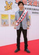 日本テレビ系ドラマ『エンジェル・ハート』で冴羽リョウを演じる上川隆也が新宿の一日署長に就任 (C)日本テレビ