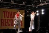 デビュー曲『岐阜ミーチャンス』発売記念イベントを行った流れ星
