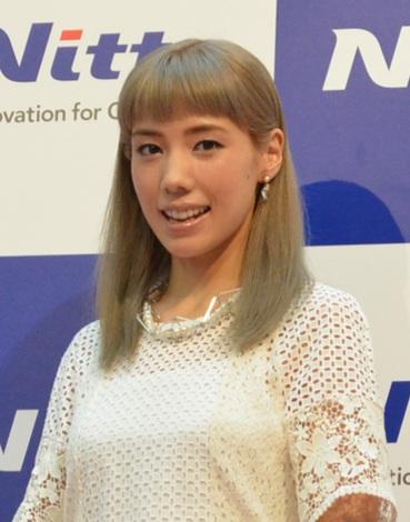 サムネイル 「Nitto Innovation Museum」 オープニングPRイベントに登場した仲里依紗 (C)oricon ME inc.