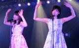 「思い出のほとんど」(左から)川本紗矢、谷口めぐ=AKB48特別公演 田原総一朗『ド〜なる?!ド〜する?!AKB48』 (C)ORICON NewS inc.