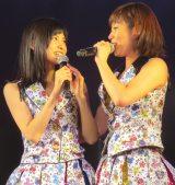 「さやめぐ」推しの田名部生来(右)=AKB48特別公演 田原総一朗『ド〜なる?!ド〜する?!AKB48』 (C)ORICON NewS inc.