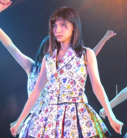 谷口めぐ=AKB48特別公演 田原総一朗『ド〜なる?!ド〜する?!AKB48』 (C)ORICON NewS inc.