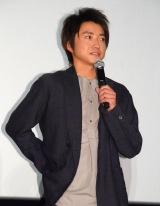 映画『探検隊の栄光』初日舞台あいさつに出席した藤原竜也 (C)ORICON NewS inc.