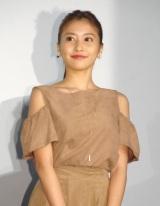 映画『探検隊の栄光』初日舞台あいさつに出席した佐野ひなこ (C)ORICON NewS inc.