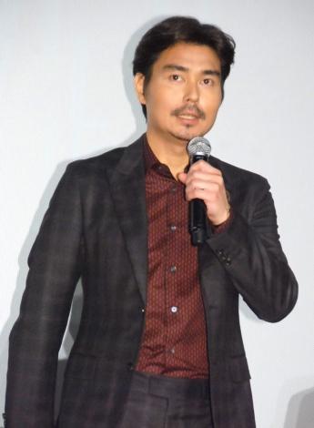 映画『探検隊の栄光』初日舞台あいさつに出席した小澤征悦 (C)ORICON NewS inc.