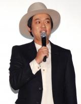 映画『探検隊の栄光』初日舞台あいさつに出席したななめ45°・岡安章介 (C)ORICON NewS inc.