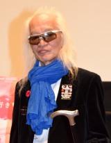 映画『エロティックな関係』の舞台あいさつに出席した内田裕也 (C)ORICON NewS inc.