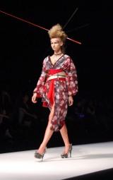 YOSHIKIがプロデュースする着物ブランド『YOSHIKIMONO』コレクションの模様 (C)ORICON NewS inc.
