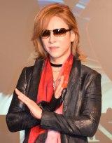 """チケット""""120万円超え""""に驚いたロックバンド・X JAPANのリーダー・YOSHIKI (C)ORICON NewS inc."""